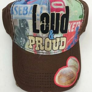 Loud and Proud Game Day Shabby Chic Trucker Hat